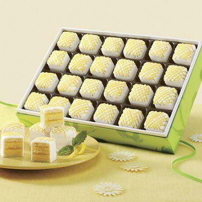 Lemon Petits Fours