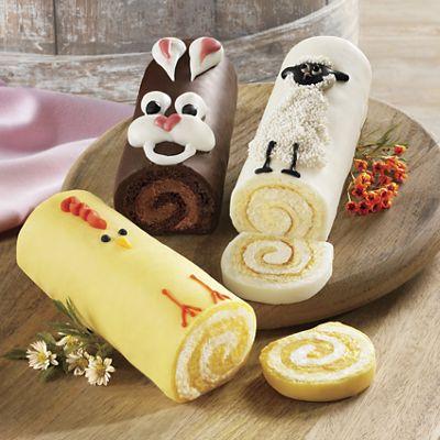 Easter Cake Trio