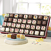Personalized Mini Birthday Petits Fours S