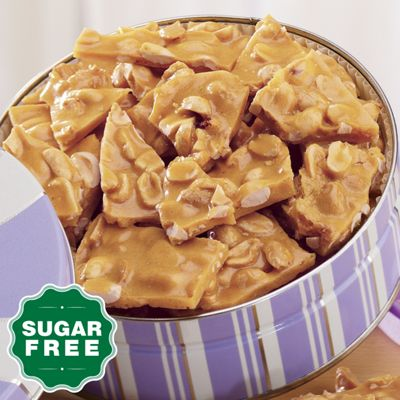 Sugar-Free Peanut Brittle