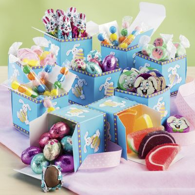 9 Easter Candy Boxes