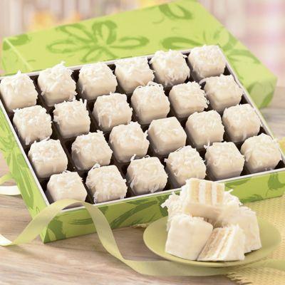 Coconut Petits Fours