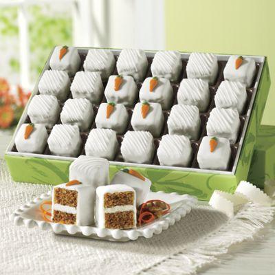 Carrot Cake Petits Fours