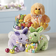 Easter Gift Plush Candy Trio