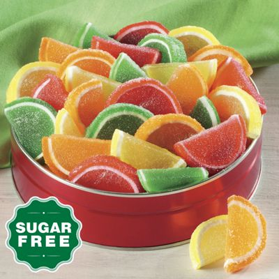 Sugar-Free Fruity Gels