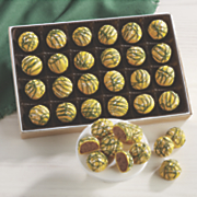 Green and Gold Truffles