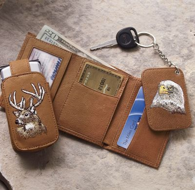 Wildlife 3-Piece Set Wallet
