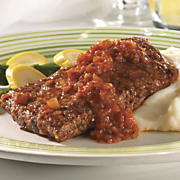 Swiss Steak with Chef Waves Sauce