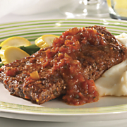 swiss steak with chef wave s secret sauce