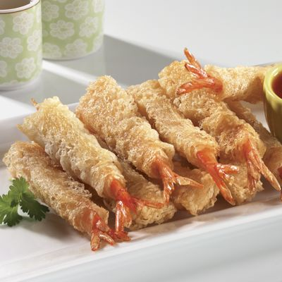 Crispy Coated Shrimp
