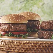grass fed burgers