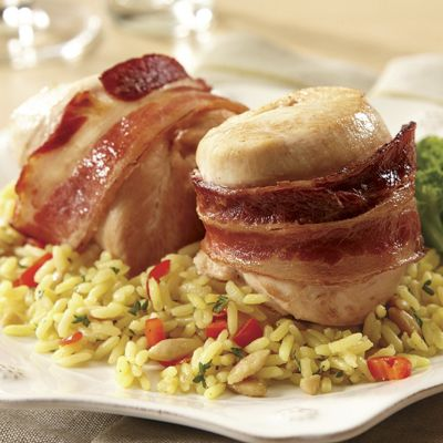 Bacon-Wrapped Chicken Breast
