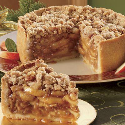 Caramel Apple Pie — Deep-dish