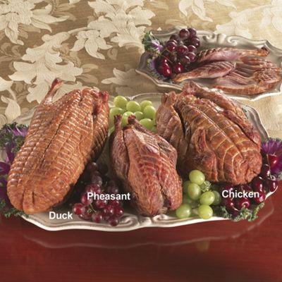 Smoked Duck, Pheasant & Chicken