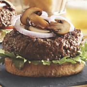 black angus sirloin burger