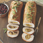 cranberry stuffed pork loin roast