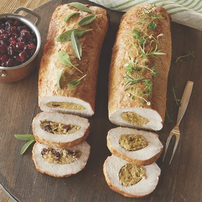 Stuffed Pork Loin Roast