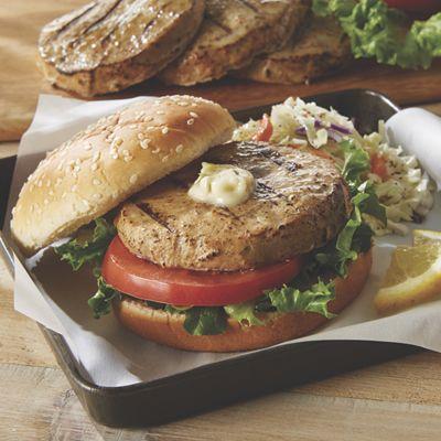 Ahi Tuna Burgers