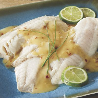 Tilapia with Chili-Lime Sauce