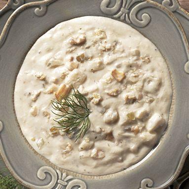 Sensational Savory Soups—Clam Chowder
