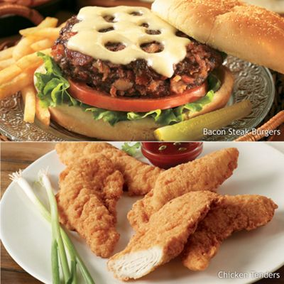 Chicken Tenders and Burgers