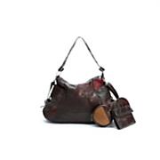 4 piece Leather Handbag Set