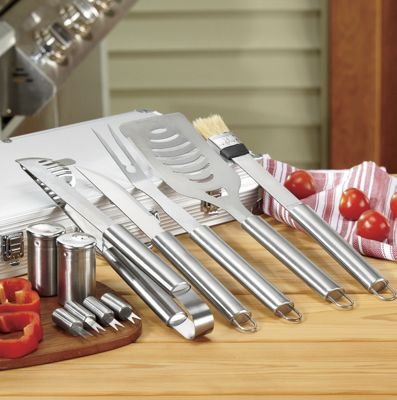11-piece Personalized BBQ Tool Set