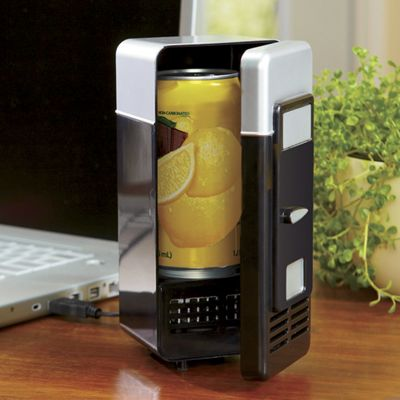 USB Heating & Cooling Mini Fridge