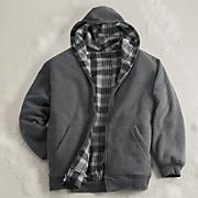 reversible hooded jacket 40