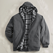 reversible hooded jacket 40