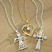 hidden prayer pendant