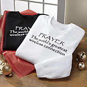 prayer sweatshirt