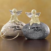 Angel Stone Figurine