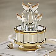 golden wings angel music box