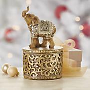 elephant trinket box