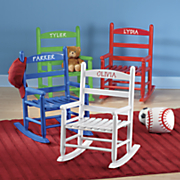 personalized child s rocking chair