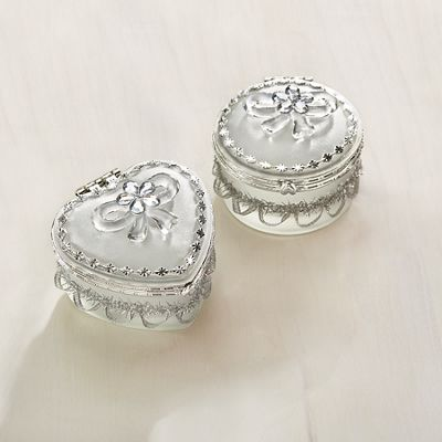 Set of 2 Trinket Boxes