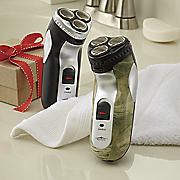 cordless rechargeable shaver by meridian point 90