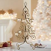 christmas tree votive holder