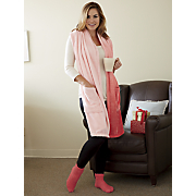 ombre reader s wrap and plush sock set