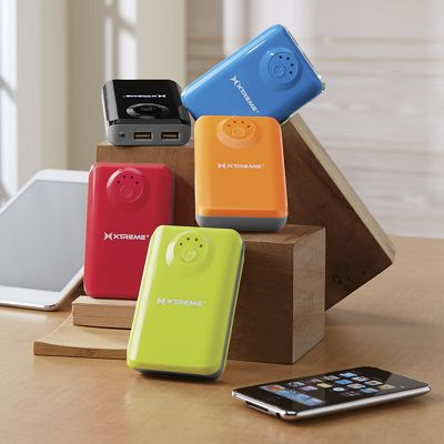 5200 mAh Portable Power Charger with LED Flashlight