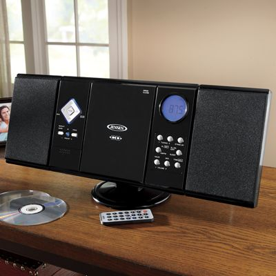 Compact Home Music System by Jensen