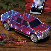 portable  pickup truck  speaker and radio with disco lights