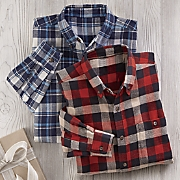 set of 2 flannel shirts
