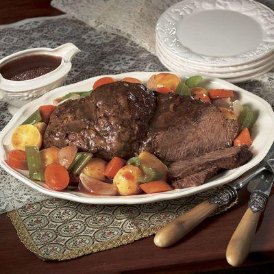 Homestyle Beef Pot Roast Au Jus