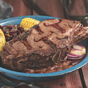 cowboy rib eye steak