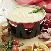 all in one cheese fondue