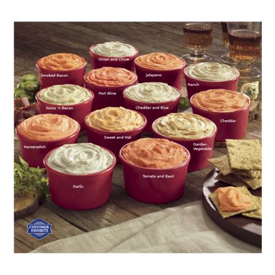 Cheese Spreads Assortment