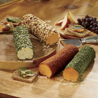 Seafood Cheese Log Gift Assortment
