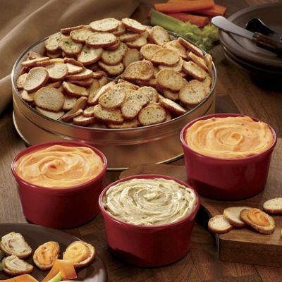Crunchy Crisps with Spreads Gift Assortment